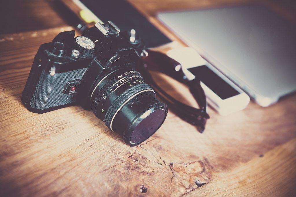 デザイナーが使っている一眼レフカメラ